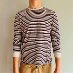 Long sleeve striped T
